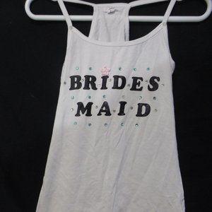 ARDENE, medium, BRIDES MAID, white sleeveless top